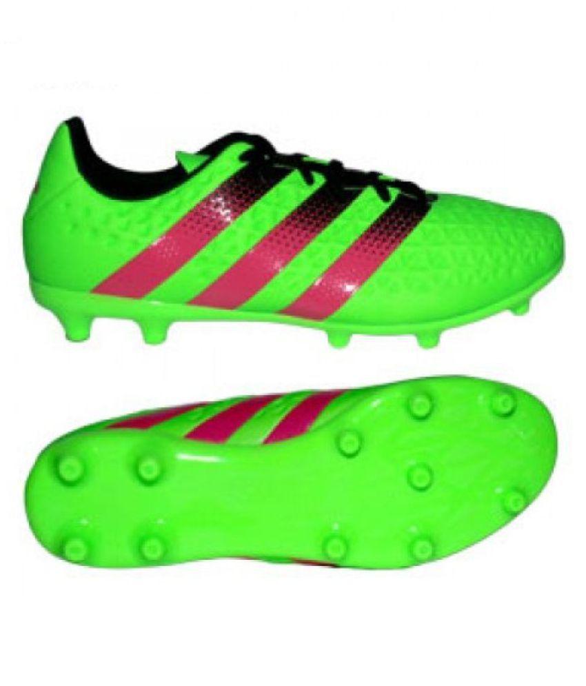 quality design 0b9a9 a3390 Adidas ACE 16.3 FG/AG Mens Football Shoes Adidas Studds Male Green