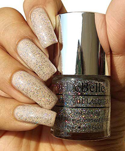 DeBelle Shimmer top coat Nail Polish (Glitter) Glitter 8 mL: Buy ...