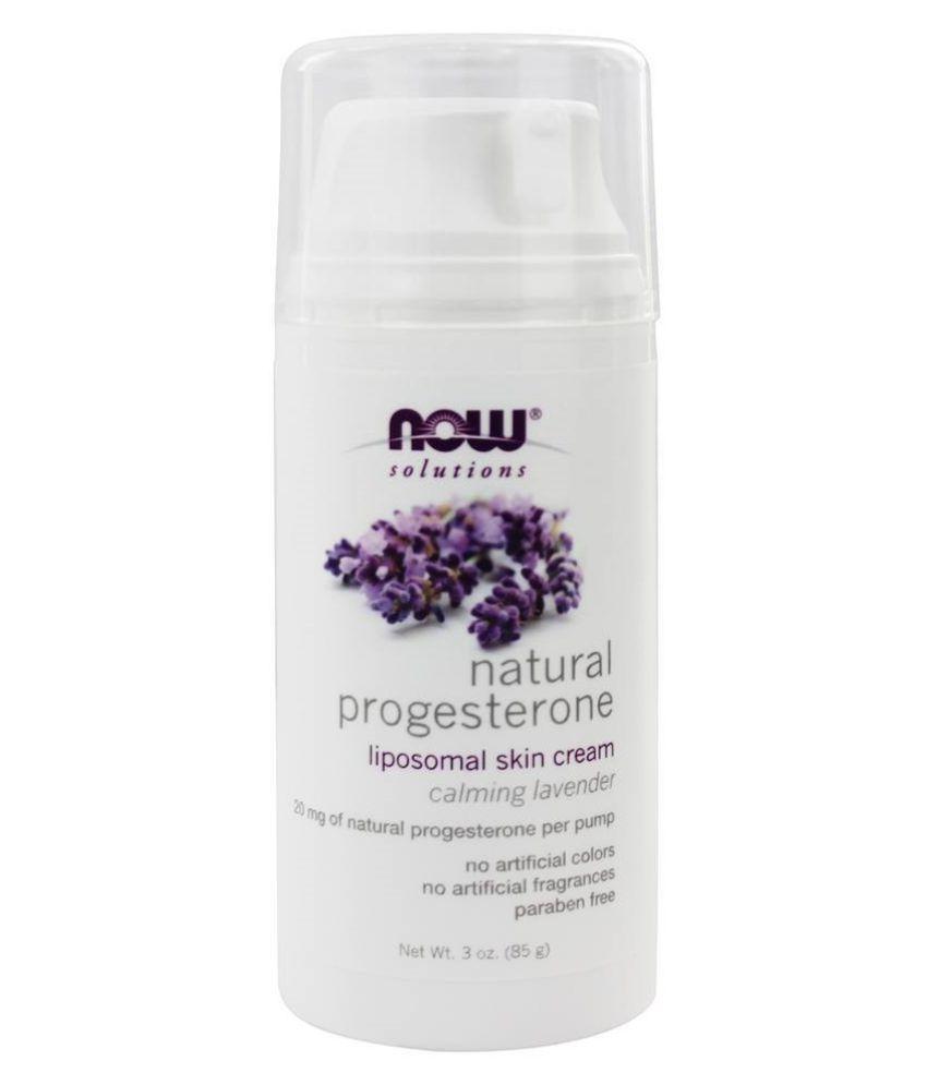 Now Foods Natural Progesterone Liposomal SkinCream Moisturizer 3 oz