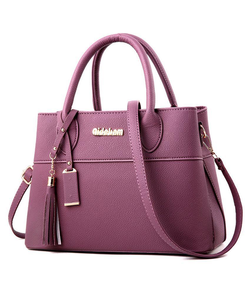 Pouches Bags and Storage for Your Fashion Needs Purple Fashion Women Tassels Crossbody Bag Shoulder Bag Messenger Bag Handbag Purple