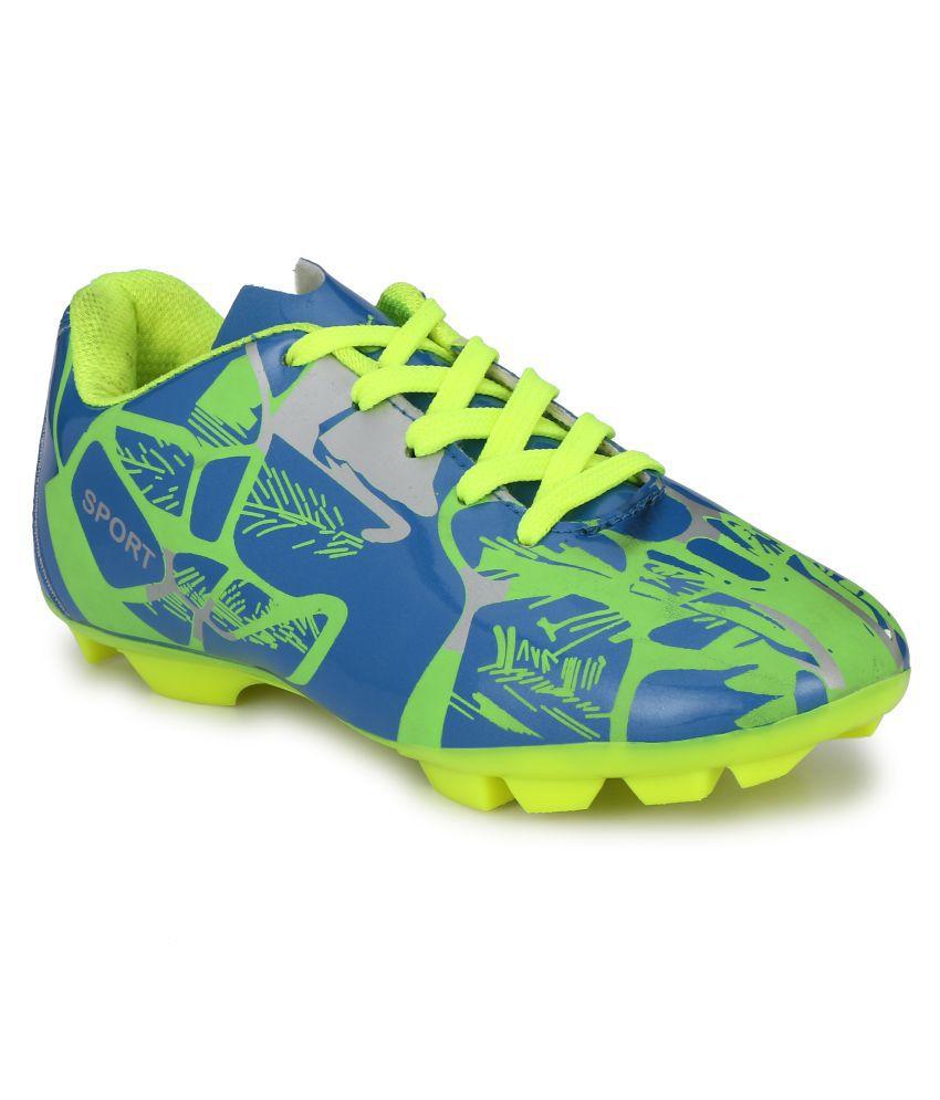Bucik Football Shoes Flat Male Green