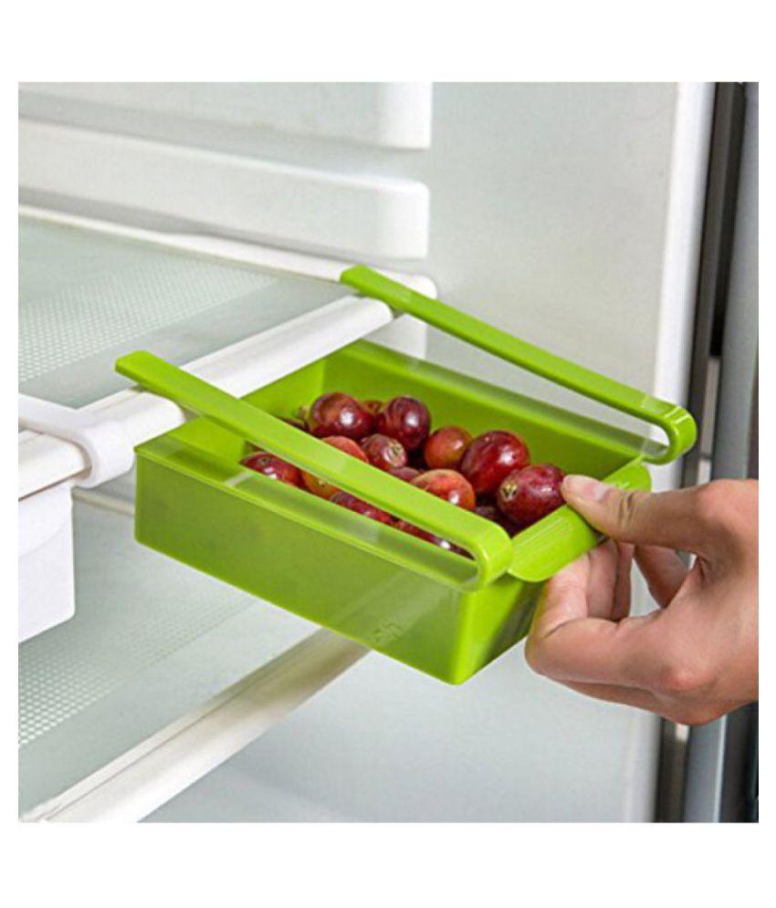 analog kitchenware fridge storage tray multicolor 4 pcs
