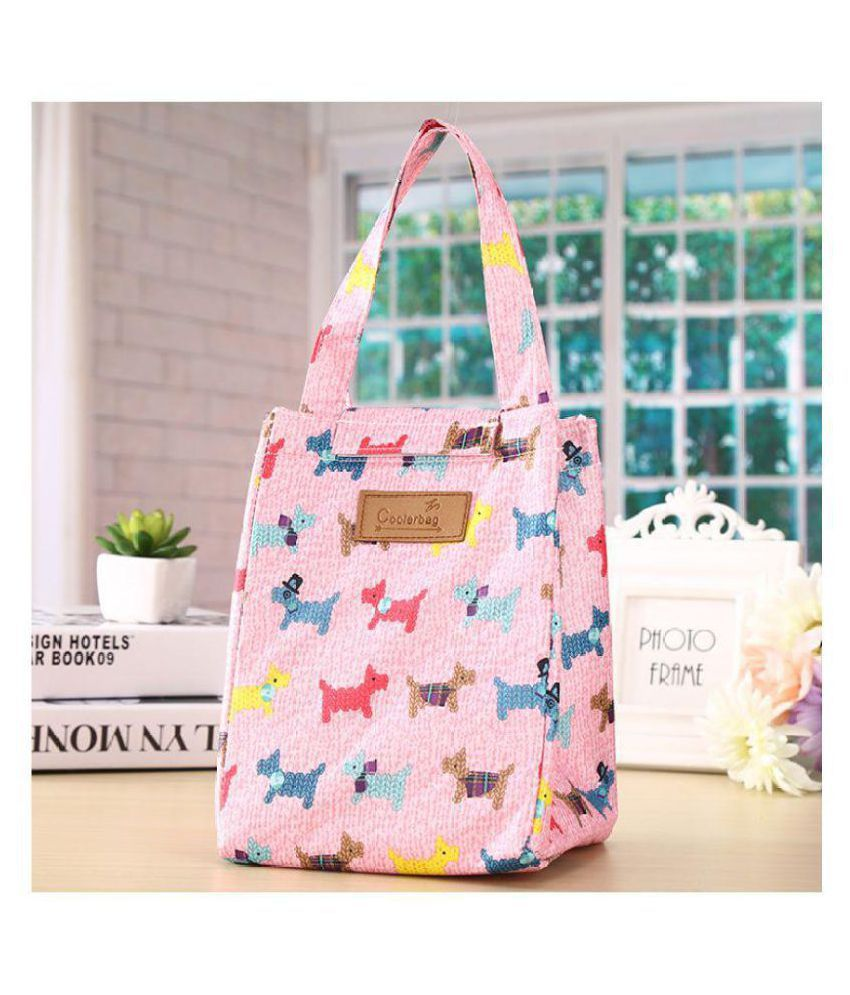 ERA INNOVATIVE GIFTING Pink Lunch Bags - 1 Pc