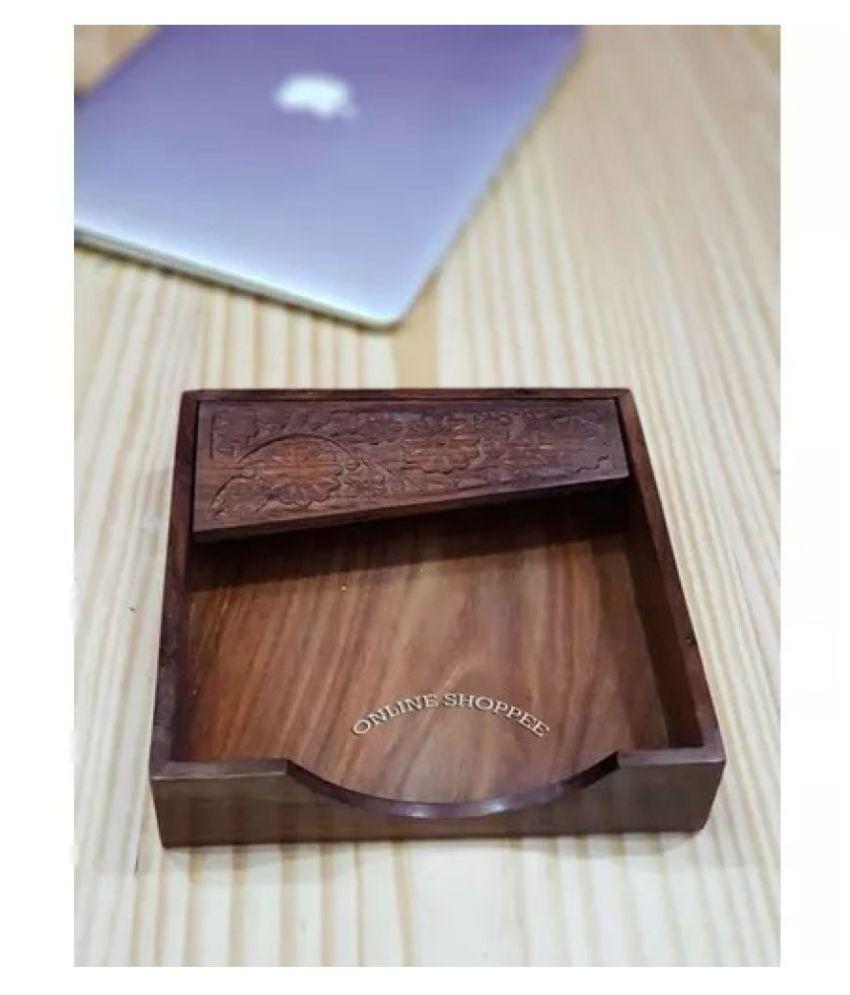 Onlineshoppee Single Wood Napkin