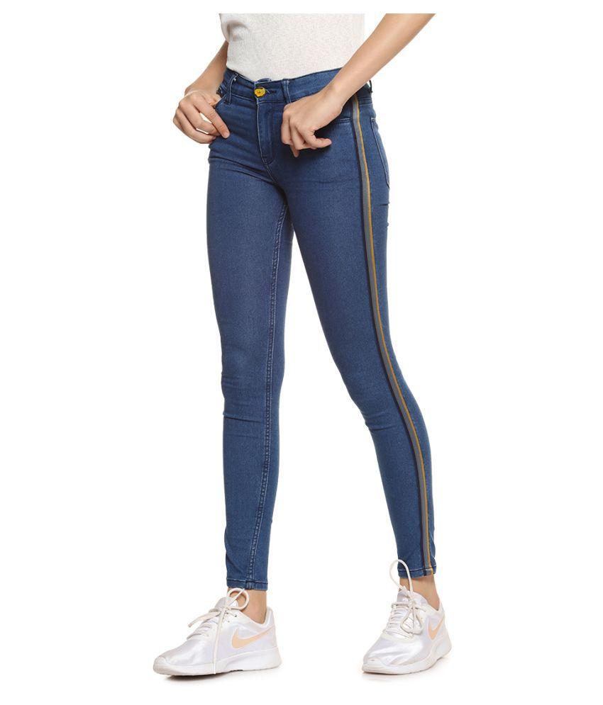 Campus Sutra Denim Jeans - Blue