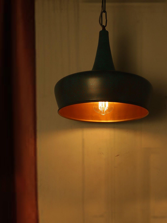 Fos Lighting Steel Steel Hanging Light Pendant Green - Pack of 1