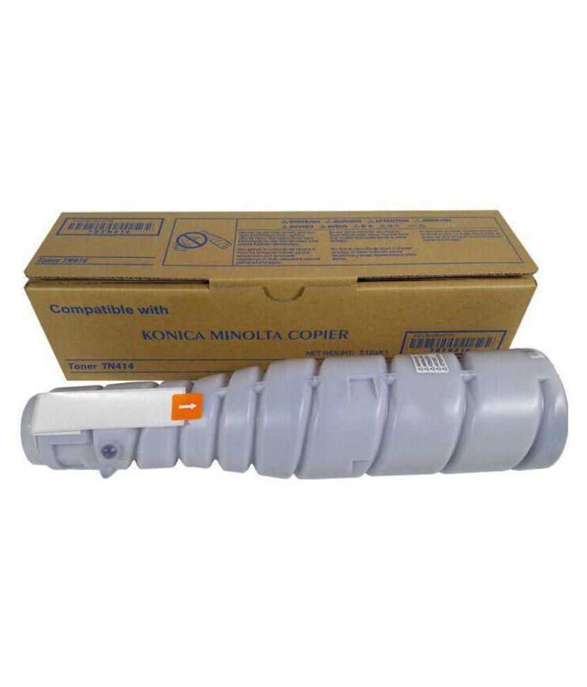 Konica Minolta TN 414 Black Single Toner for Konica Minolta TN 414 Toner Cartridge