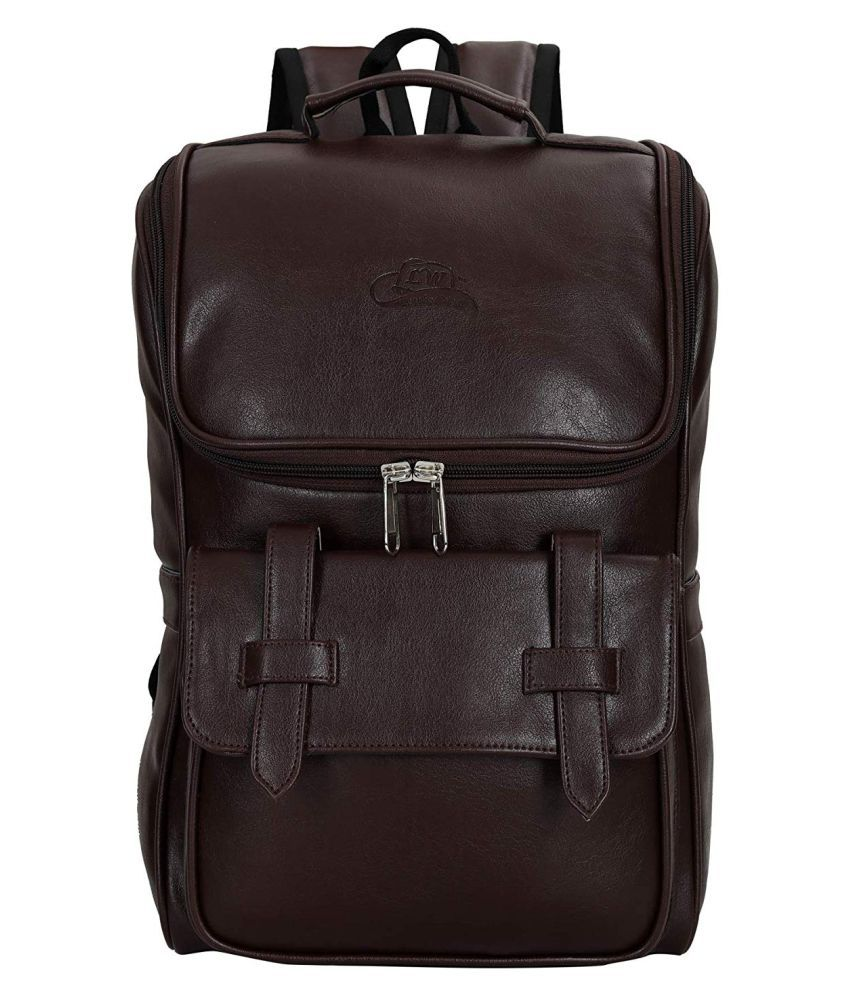 0474c837145 Leather World Brown Leather College Bag - Buy Leather World Brown Leather  College Bag Online at Best Prices in India on Snapdeal