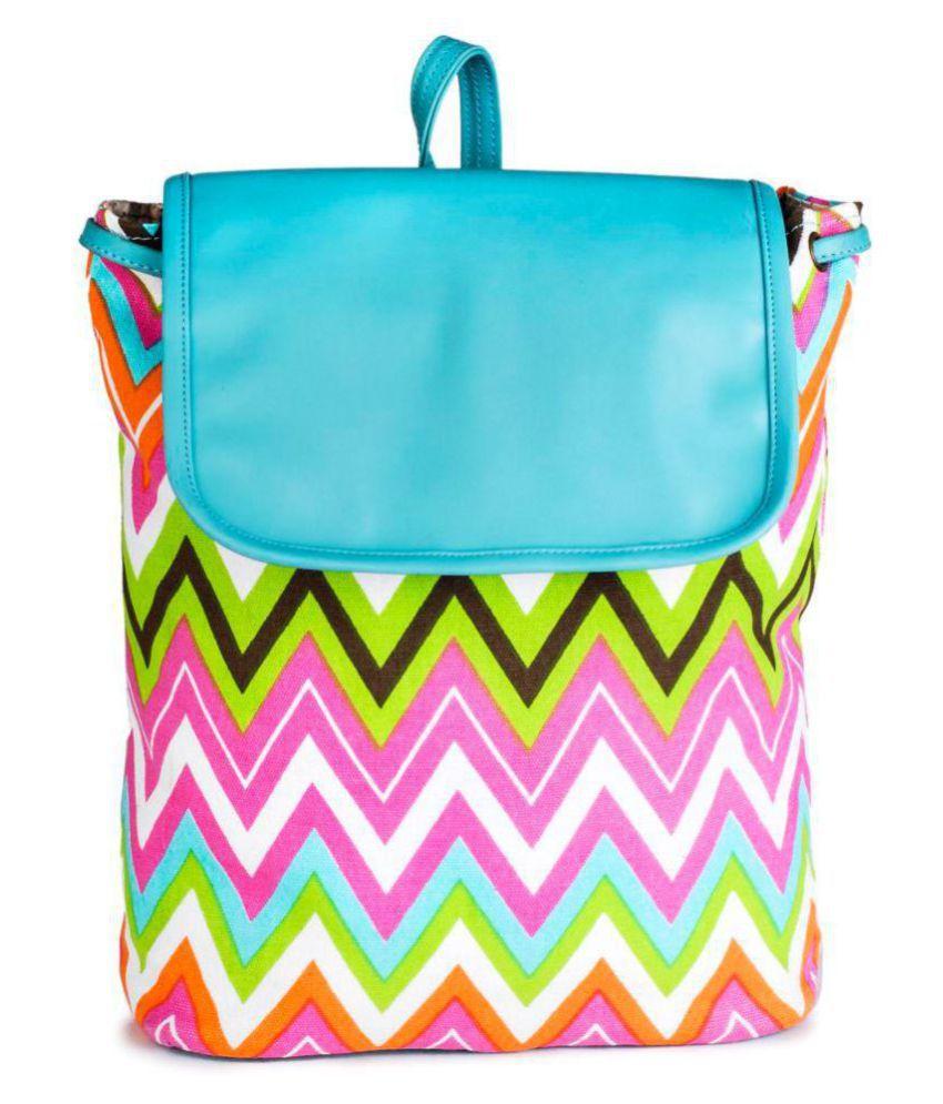 Lychee Bags MULTICOLOR Backpack