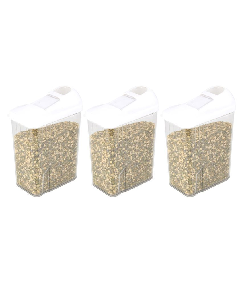 Chefstar Polyproplene Dal Container Set of 3 750 mL