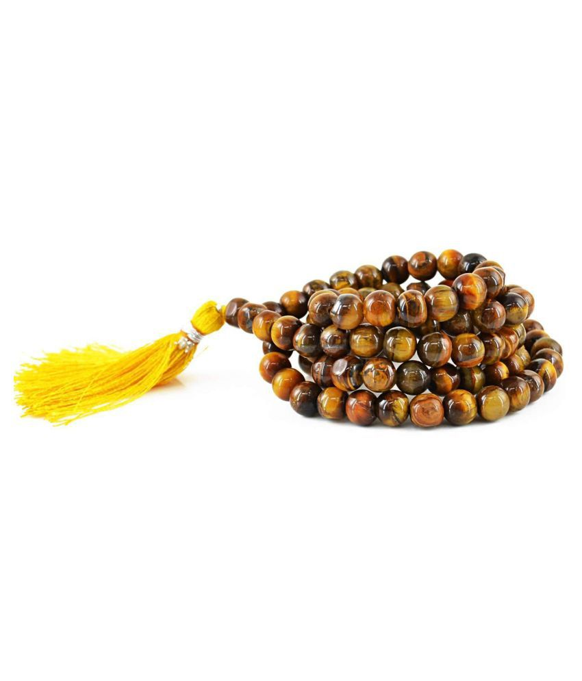 High-Energy Tigers Eye 108 beads Mala