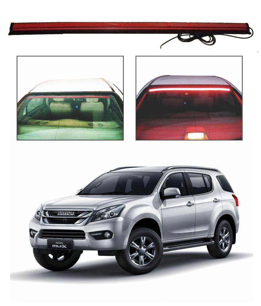 Trigcars Isuzu Mux Roof line LED Third Brake Light Kit Above Rear Windshield