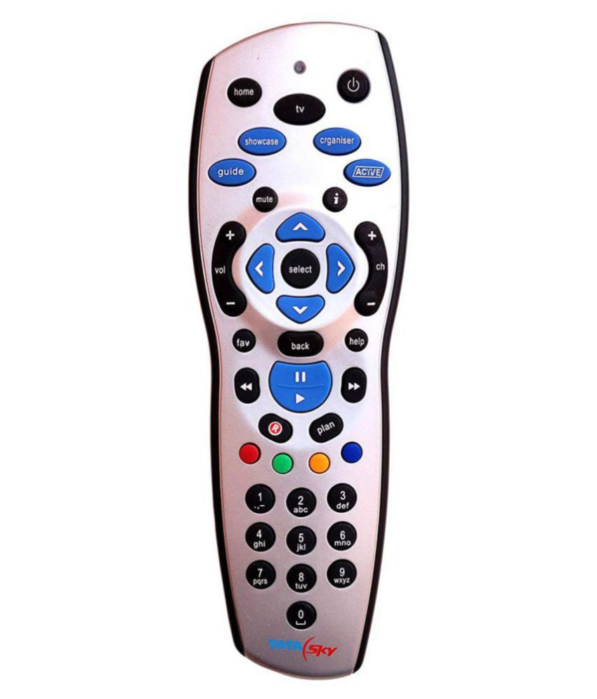 Emm Emm Recording Feature DTH Remote Compatible with Tata Sky Hd Plus Set  Top Box