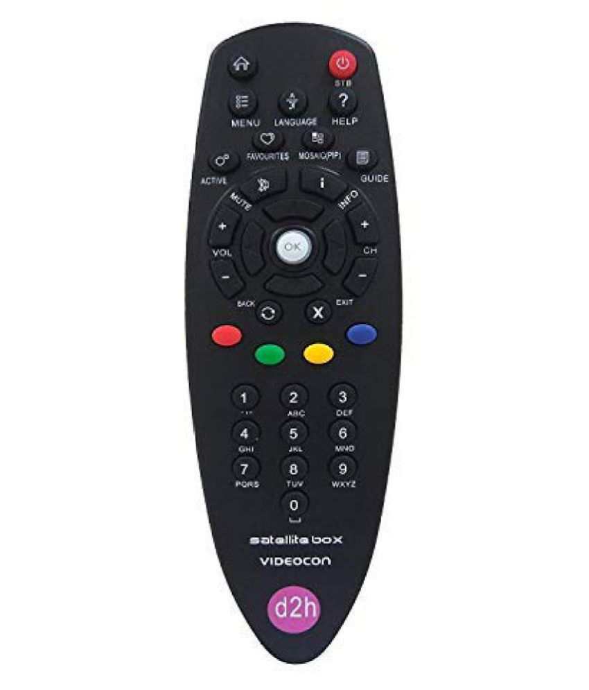 EHOP D2H DTH Remote Compatible with Videocon