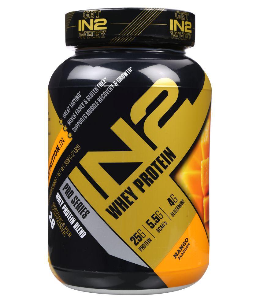 IN2 Whey Protein Mango 908 gm
