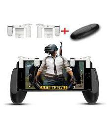 TOTU PUBG Gaming Trigger+Gamepad combo For Mobile Gamers ( Wireless )1 Pair Triggers