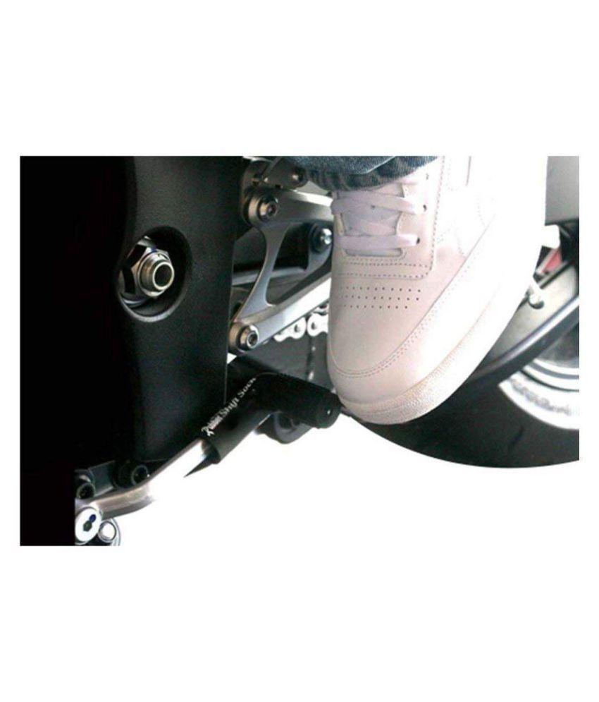 Rubber Shiftier Sock Boot Shoe Protector Shift Cover Motorcycle Dirt Bike (Black)