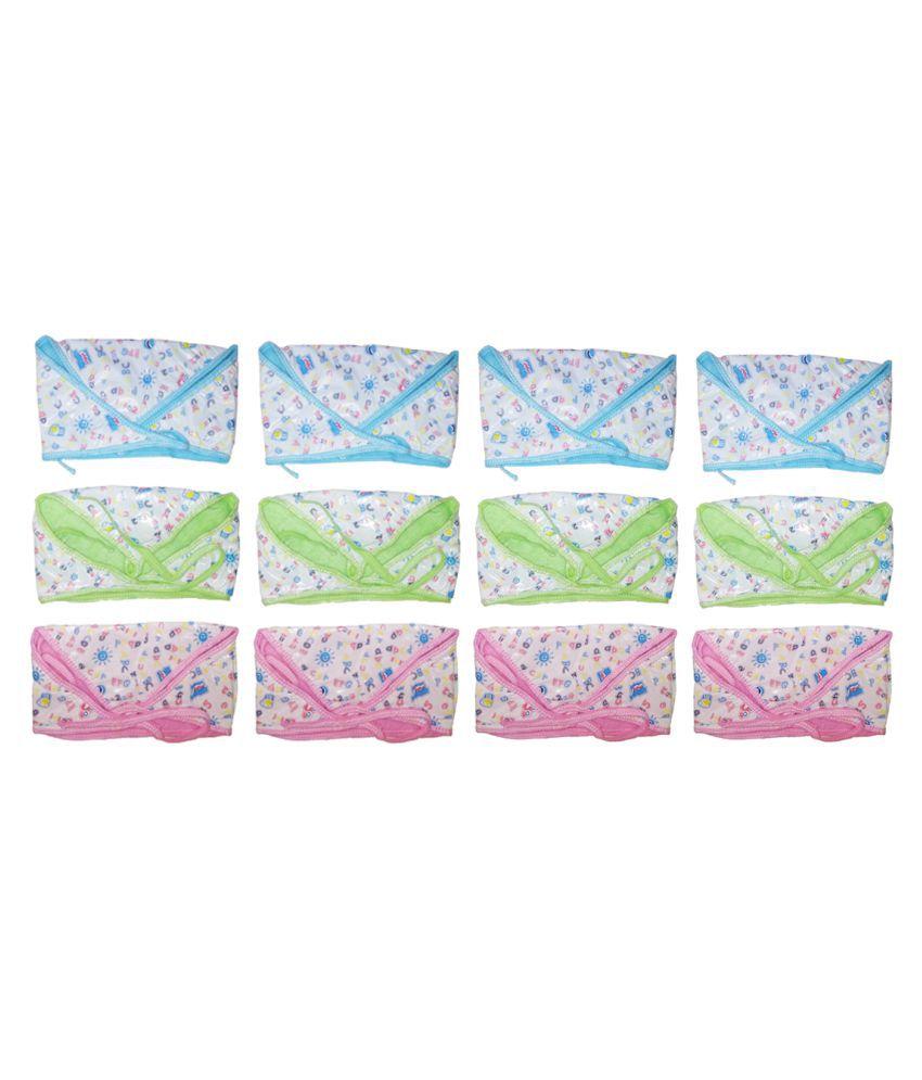 SAASHIKA BABY NAPPIES (towel and plastic) (12 pieces)