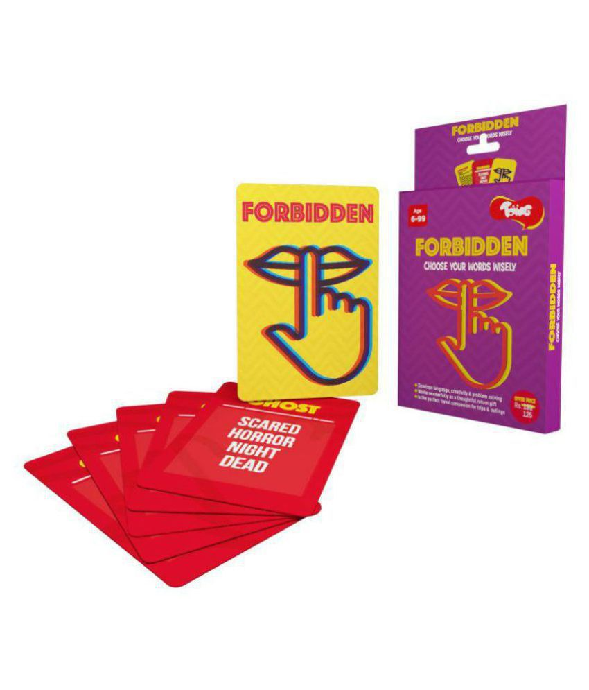 Toiing Forbidden - Educational Card Games for Kids in travel-friendly  packs