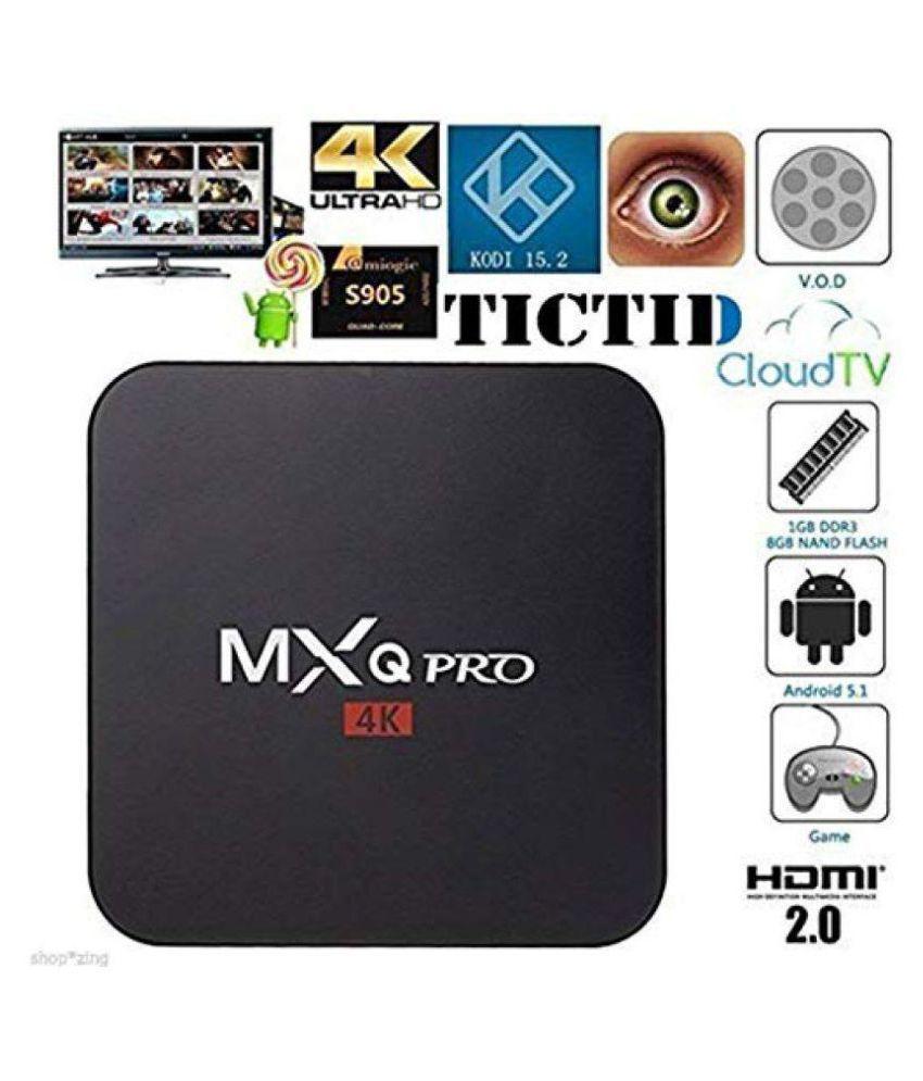 UKANI MXQ Android TV Box Streaming Media Player