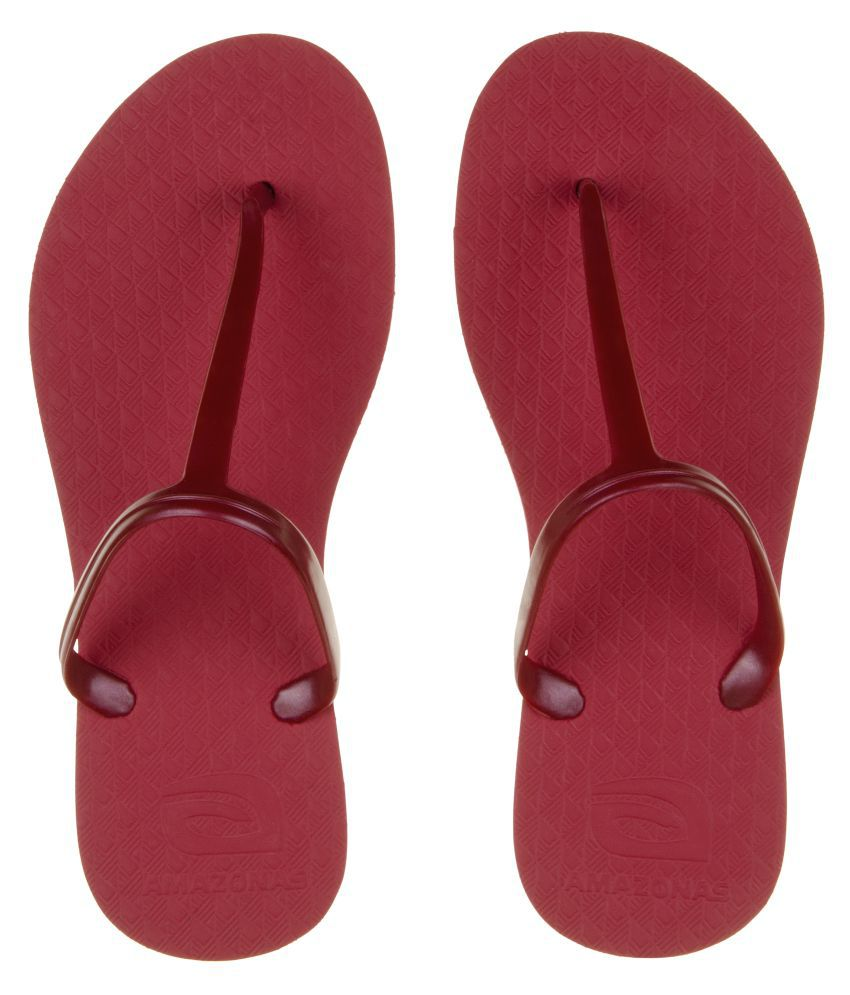 AMAZONAS Red Slippers