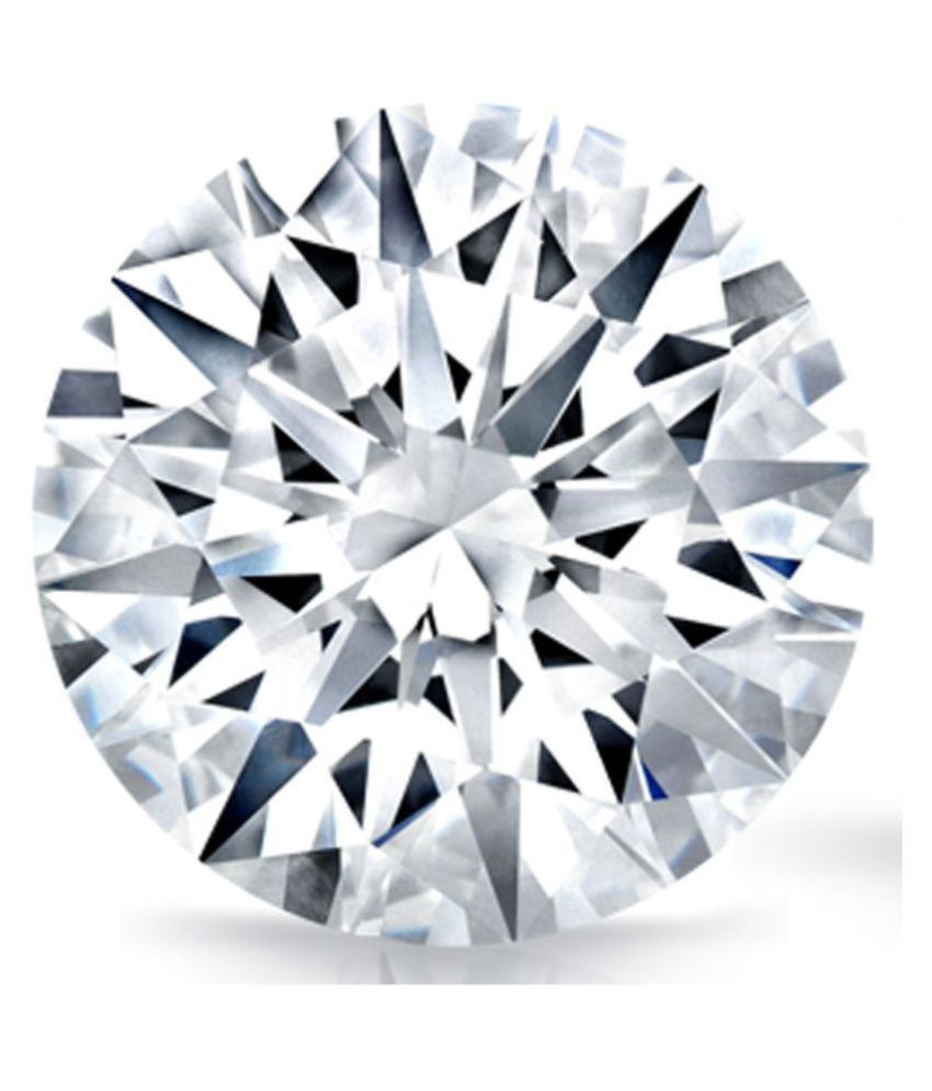 100% Certified 1.02 Carat White Moissanite Diamond (Heera) Brilliant Round Excellent Cut Loose Gemstone AAA+ Quality