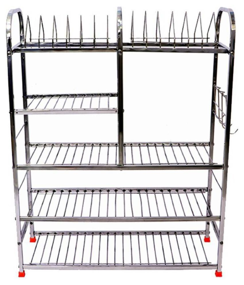 Extenso 31X30X10 Inch Wall Mount Kitchen Dish Rack Stainless Steel Kitchen Rack