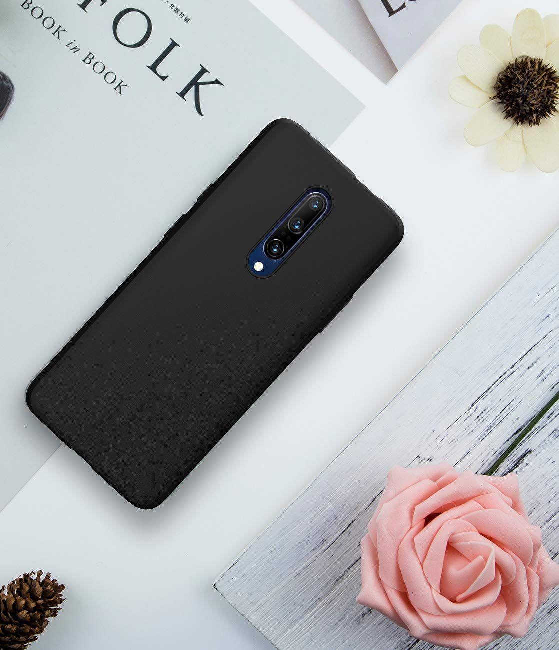 OnePlus 7 Pro Plain Cases Spectacular Ace - Black