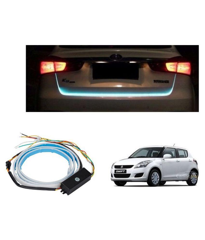 Trigcars Maruti Suzuki Swift 2014 Car Tailgate LED Strip Light