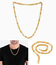 Dare by Voylla Gold Plated Chain For Men
