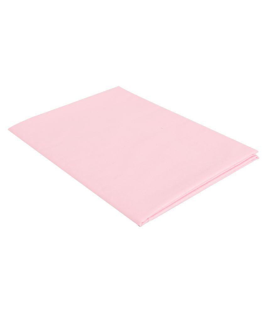 Maharaja Shirt Pink Polyester Unstiched Kurta Pyjama
