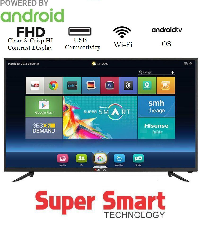 Activa ACT-32 SMART Android 80 cm ( 32 ) Smart Full HD (FHD) LED Television