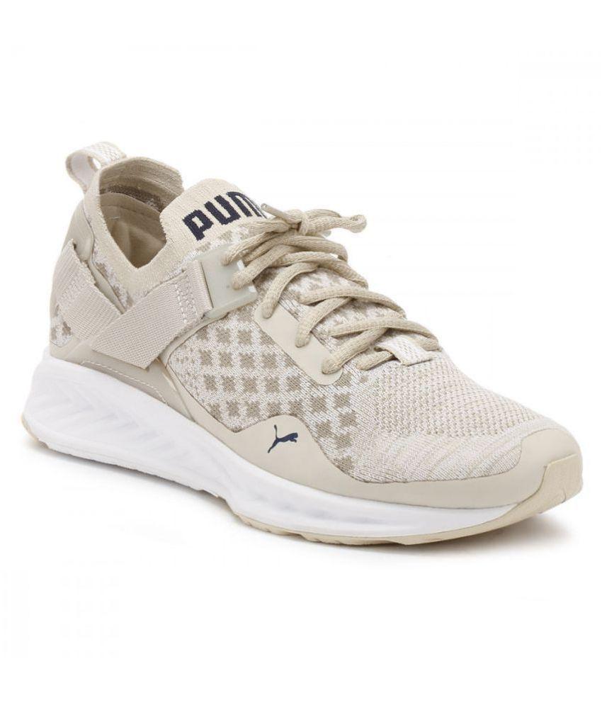the latest 46122 fddd7 Puma IGNITE evoKNIT Lo Cream Training Shoes