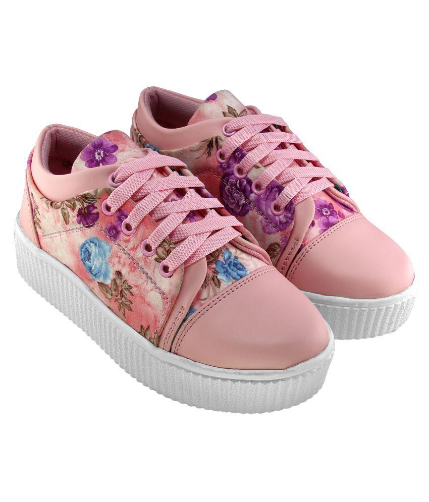 FASHIONN BANK Pink Casual Shoes
