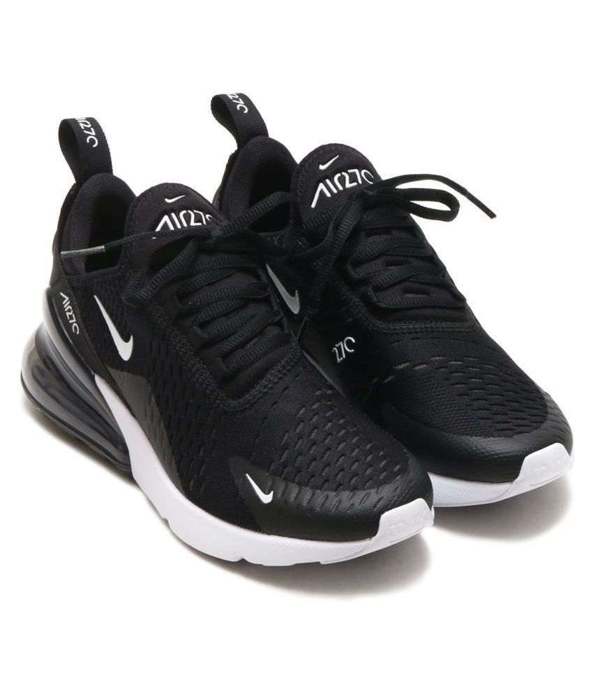 quality design 41a99 d4dfa Nike AIR MAX 270 2018 Black Running Shoes