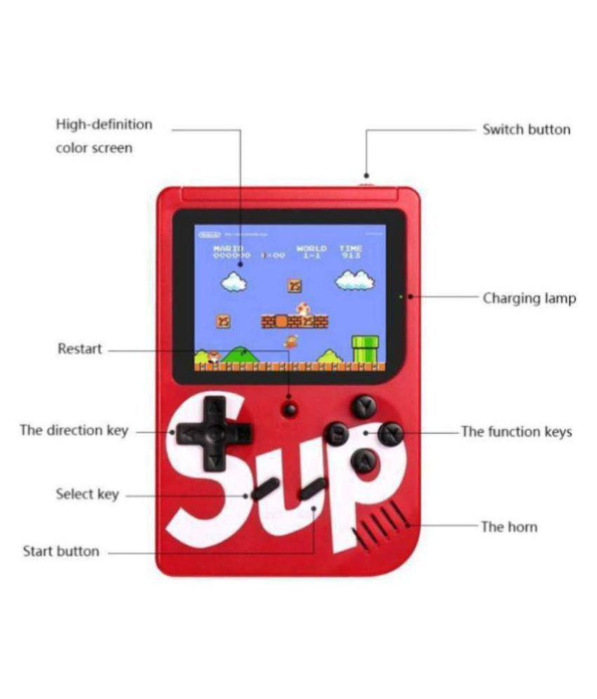 Dirar Android 8 GB Handheld Console ( SUP 400 in 1 Retro Game Box Super Mario, Contra )