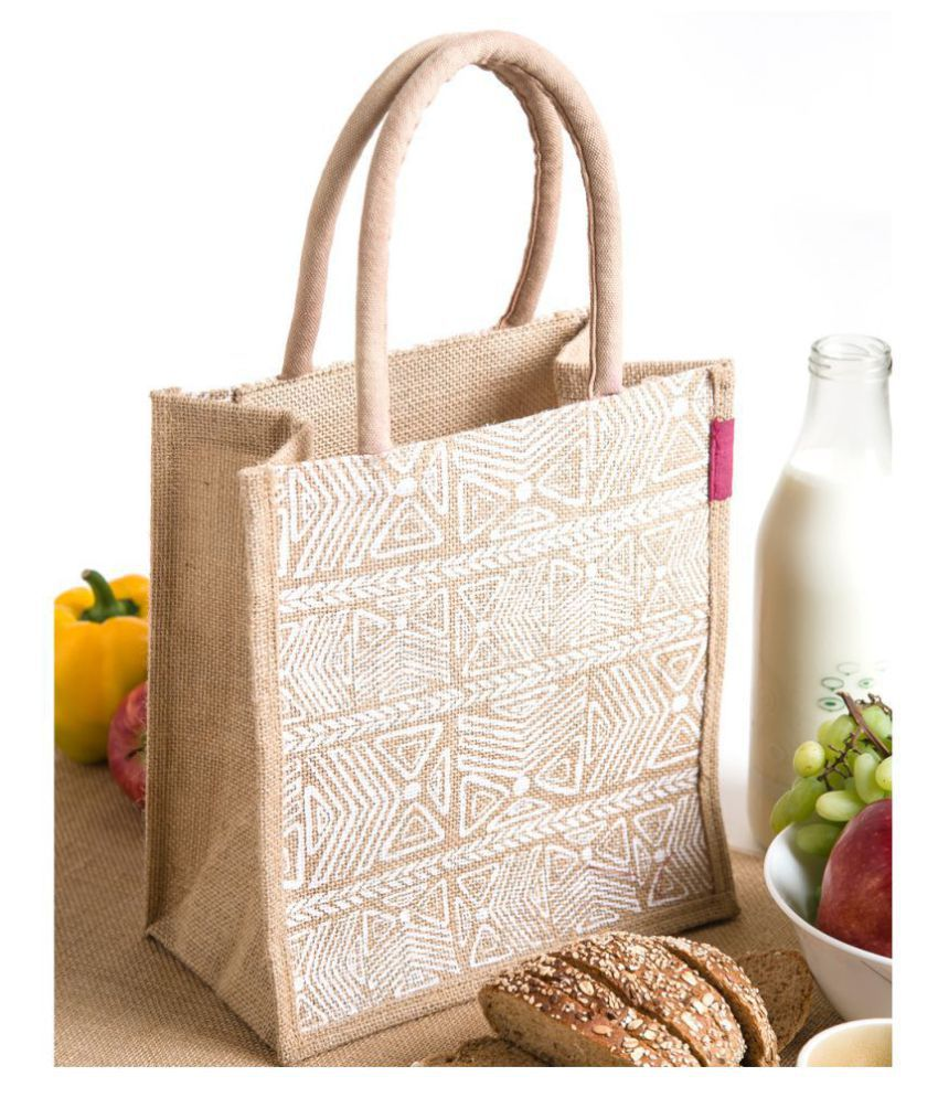 H&B Beige Lunch Bags - 1 Pc