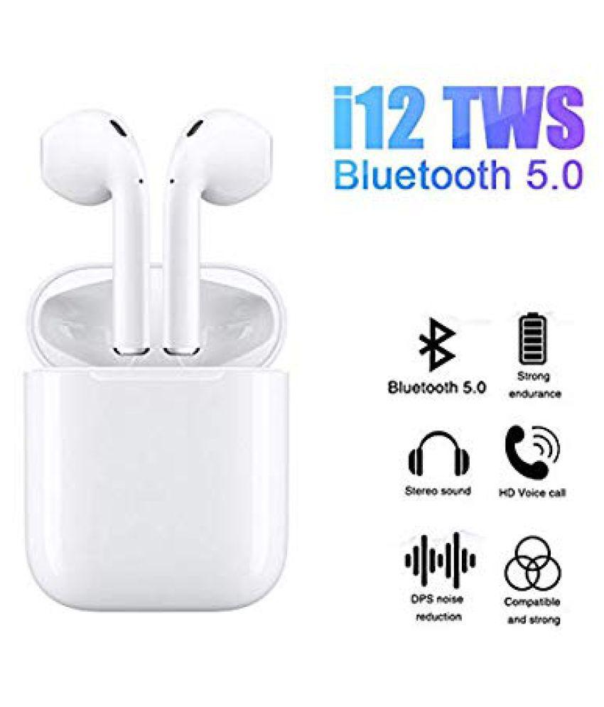 AK Fashion Store i12 tws Wireless Bluetooth 5 0 Bluetooth