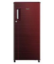 Whirlpool 185 L 3 Star Direct Cool Single Door Refrigerator(200 ICE MAGIC POWER COOL PRM 3S WINE CHROMIUM STEEL-E)