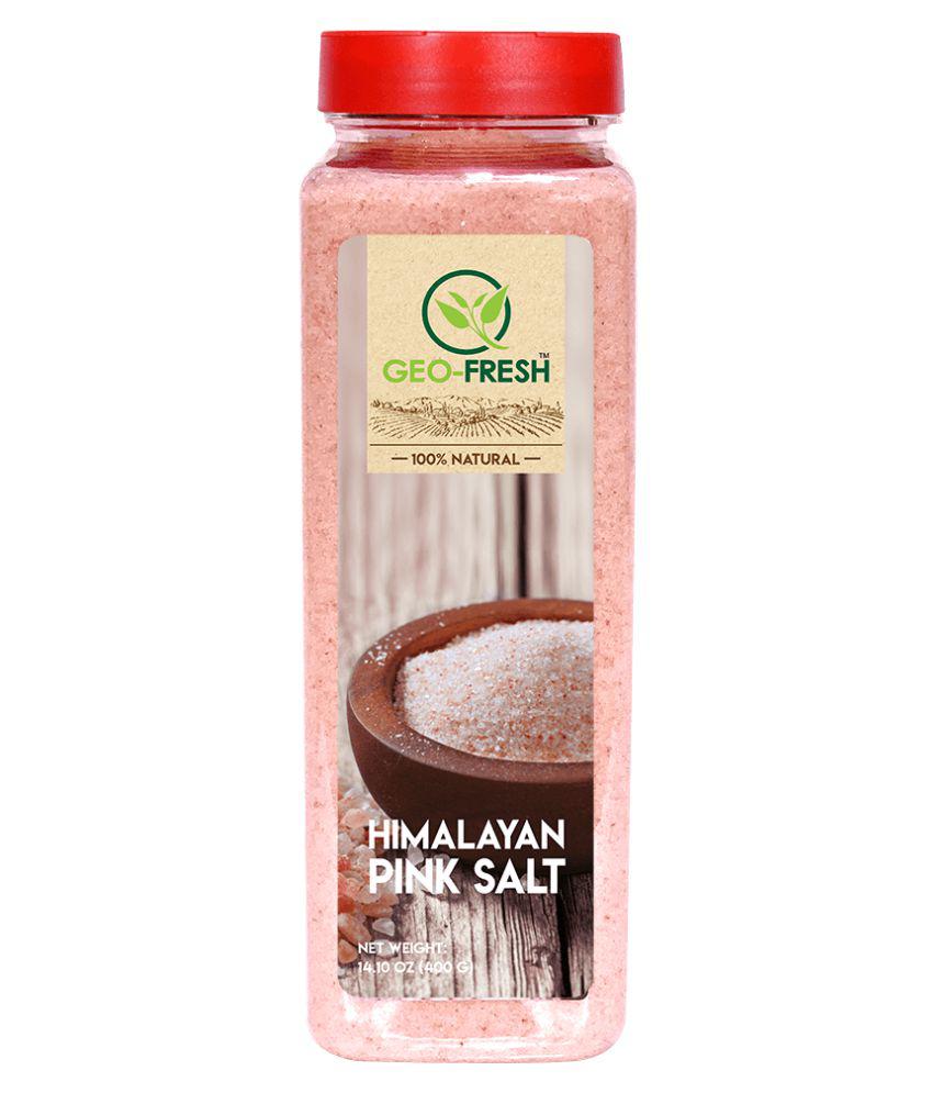 Geo-Fresh Himalayan Pink Salt 400 gm Pack of 2