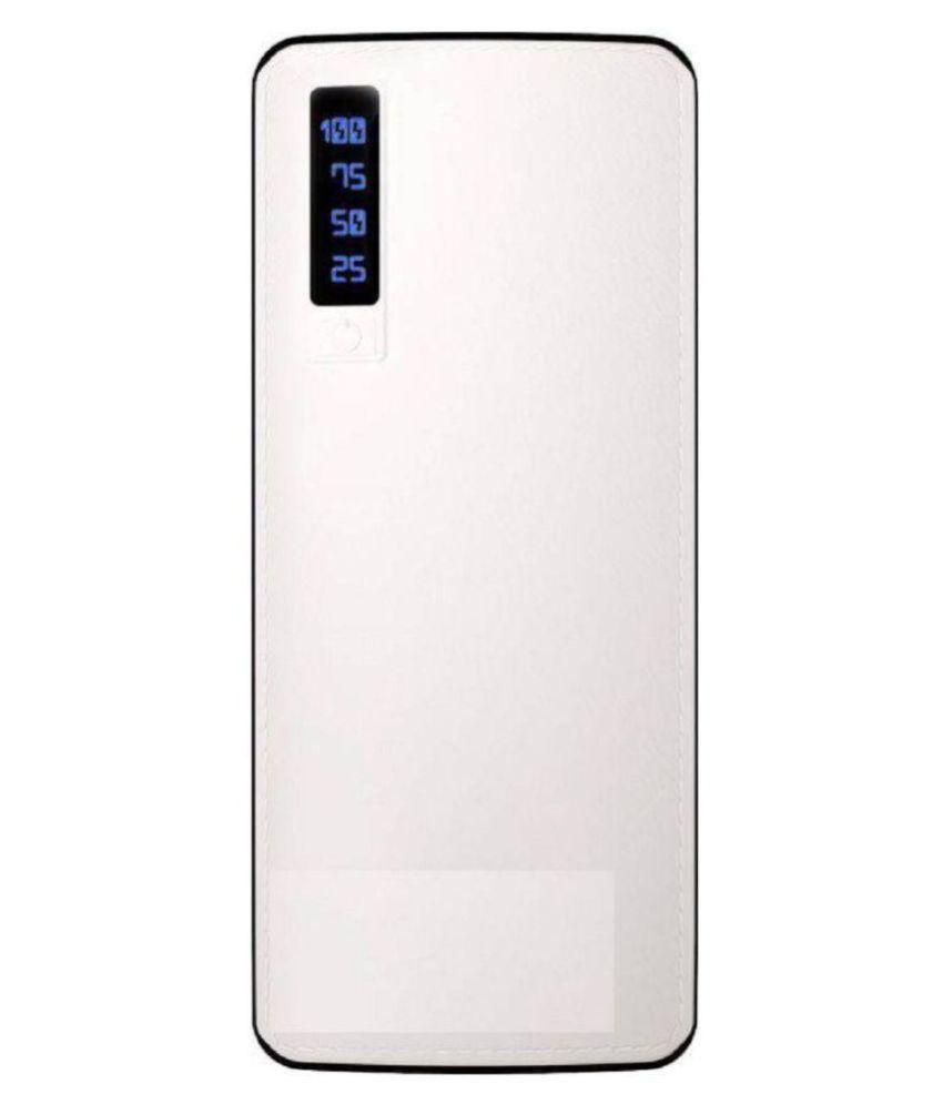 Maximilion p20 15000  mAh Li Ion Power Bank White