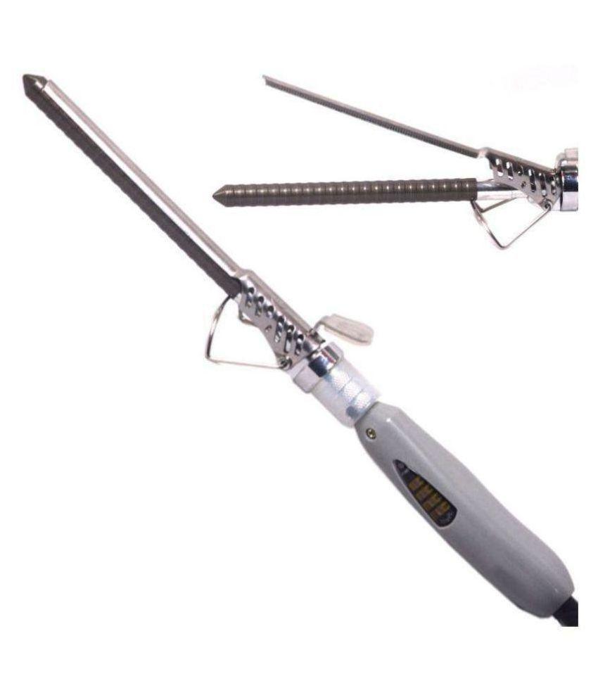 V & G SALON VG-228  Hair Curler Hair Straightener ( Grey )