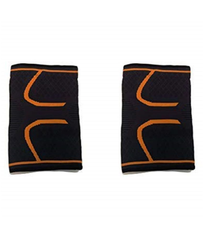 Protecting Knee Joints Protective knee protector Set of 2 (orange)