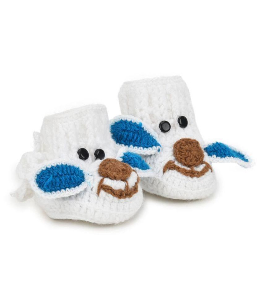 CHUTPUT Hand Made Woolen Elephant Booties