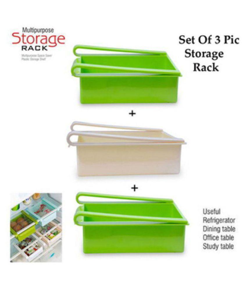 skylake Fridge Storage Rack PET Food Container Set of 3 500 mL