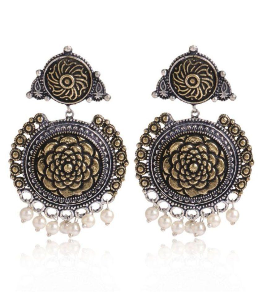 Studira Stylish Fancy Party Wear Jewelry Alloy Drops & Danglers