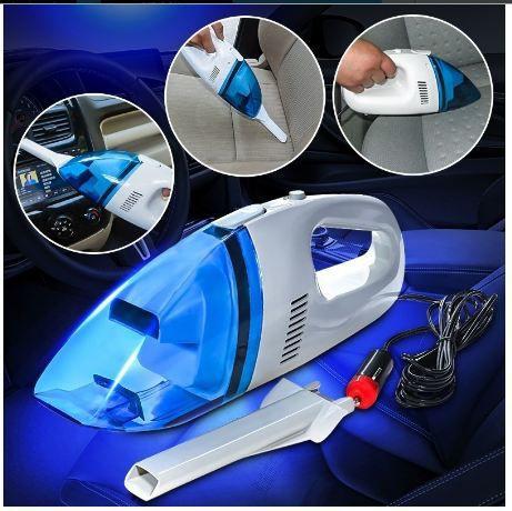 TR 12V Multicolor Car Vacuum Cleaner