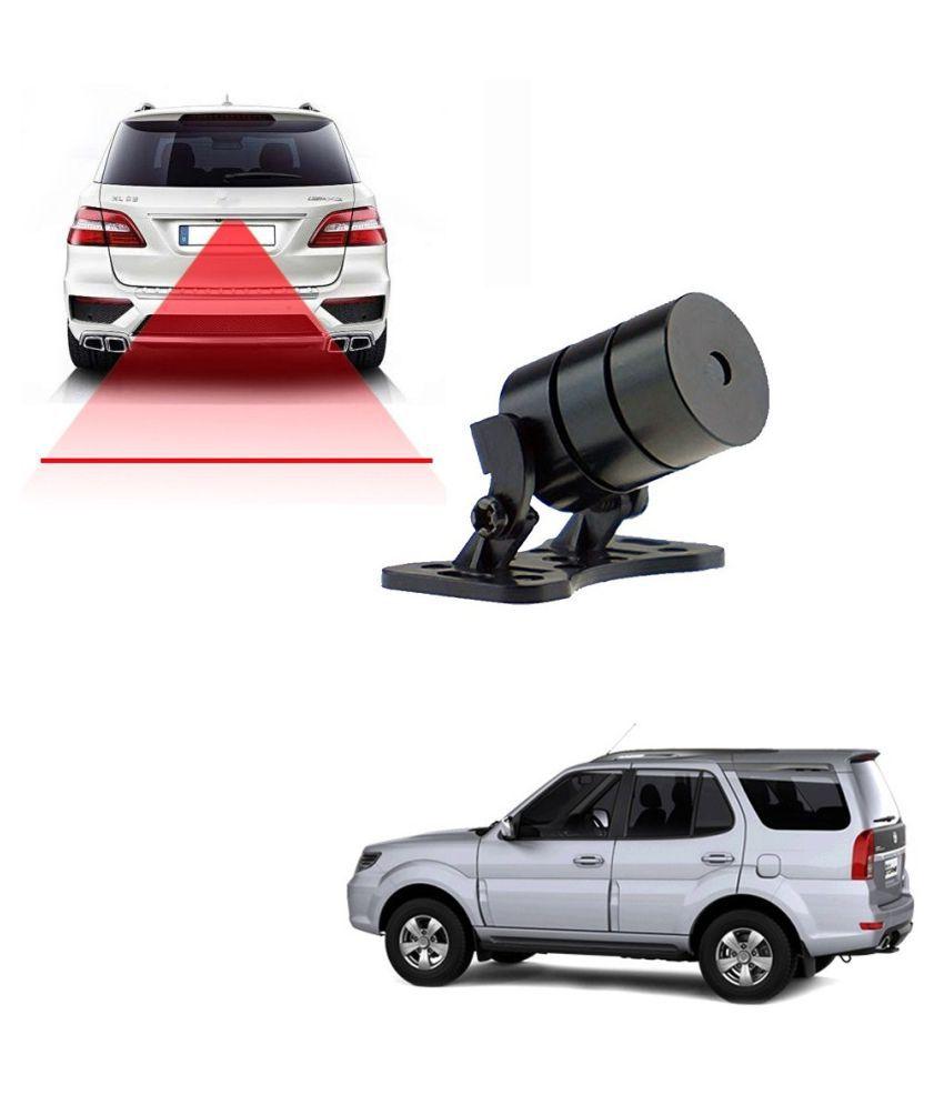 Auto Addict Car Styling Anti Collision Safety Line Led Laser Fog Lamp,Brake Lamp,Running Tail Light-12V Cars For Tata Safari::Grand Dicor