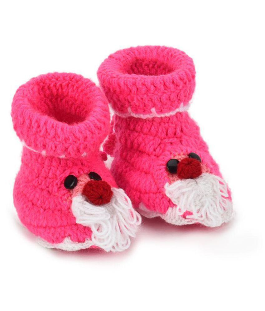 CHUTPUT Hand Made Woolen Mouse Booties