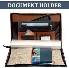 Quick View. Cosykart PU Leather Professional Files and Folders,Conference Folder, Certificate Holder, Documents ...